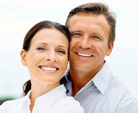 Mehr Lebensfreude mit weißen Zähnen