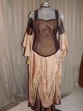 Steampunk Kleid edel