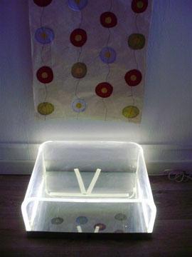 Podoscope à lumière tangentielle