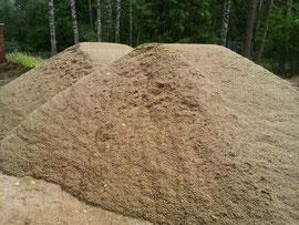 plautas smėlis grindų betonavimui