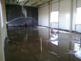grindų betonavimo priežiūra