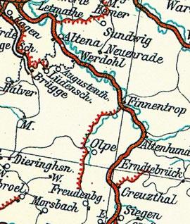 Bahnstrecke von Hagen nach Siegen