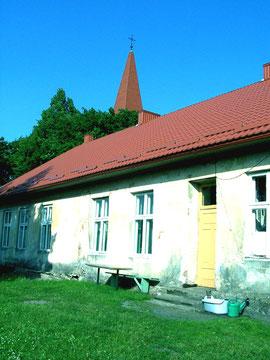 2006 Die Rückseite des Pfarrhauses