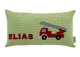 Kissen 45 x 25 Feuerwehr Namenskissen