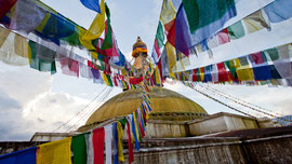 Stupa aus Kathmandu