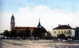 Crkva i župski dvor u Boće