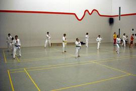 Unsere Jugend beim Training