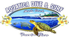 Aquatica, dive, surf school, Isabela