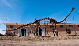 Musée des fossiles et des minéraux à Erfoud