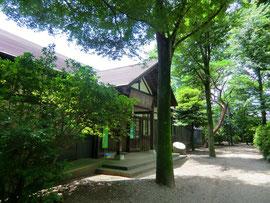 ▲小金井市文化財センター(旧浴恩館)