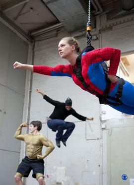 Spider-Man Fix, Batman Zigah und Siegfried Börner (v. oben)