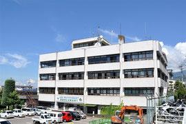 小諸市役所と小諸厚生病院が一体化