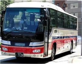 千曲バスの高速バス路線車両