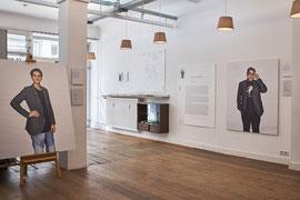 Ausstellung im Weissraum Hamburg