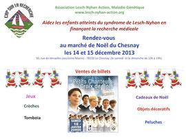 Marché de Noël au Chesnay
