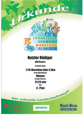 Die Datums-Abweichung kommt daher, dass der offizielle Marathon erst am 01.09. ausgetragen wurde.