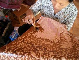 Técnica del Batik