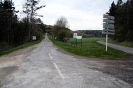 Die Straße im April 2011