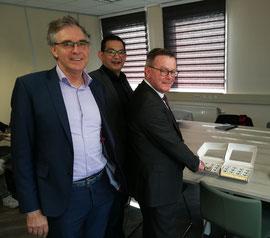 Gerrit Jan Veldhoen, Willem Rietberg en Gosse Noppert