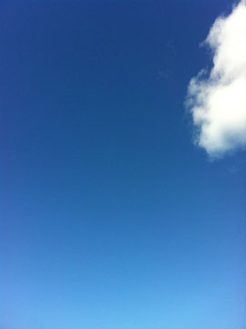 Photo of blue sky