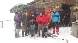 Foto di gruppo all'Alpe Curgei m. 1335