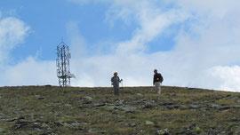 Si scende dalla vetta del Galehorn m. 2797