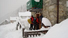 Arrivo all'Alpe Il Motto m. 1600