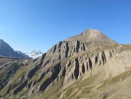 La Punta dei Camosci (sulla sinistra l'Arbola)