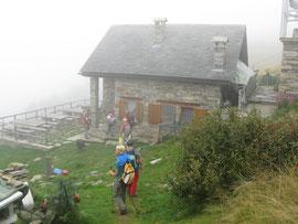 Arrivo al rifugio Alpe Colma m. 1570