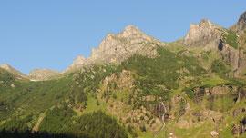 Il Pizzo Valgrande di Vallè m. 2531