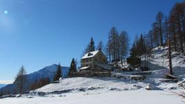 Il rifugio Crosta all'Alpe Solcio