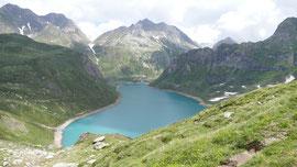 Il lago Vannino