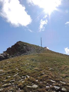La vetta del Seehorn m. 2438
