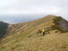 La cresta che va dal Pizzo al Monte Todano