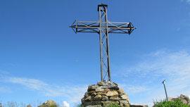 La croce di vetta del Monte Torriggia m. 1703