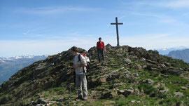 In vetta al Monte Zeda