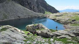 Il lago superiore di Paione m. 2269