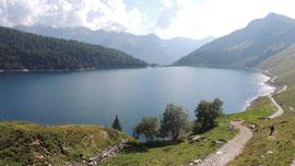 Il lago del Ritom m. 1852