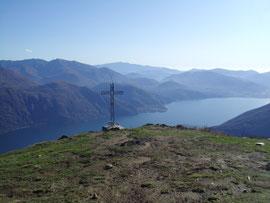 La vetta del Monte Giove m. 1301