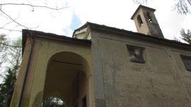 La Chiesa di S. Croce in vetta al Colle di Croppargino