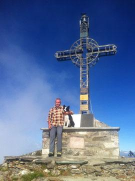 In vetta al Monte Massone