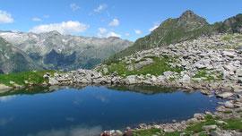 Il lago di Moriana m. 2100
