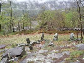 """I menhir dell'area Megalitica """"Croppola"""""""