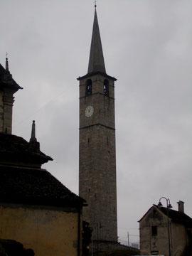 Il campanile più alto dell'Ossola a Chiesa