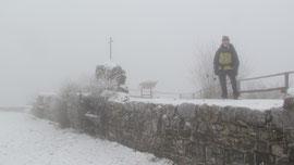 Il forte di Orino m. 1134 (nella nebbia)