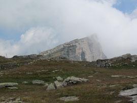 La punta Valgrande di Vallè