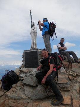 In vetta al Monte Emilius m. 3559