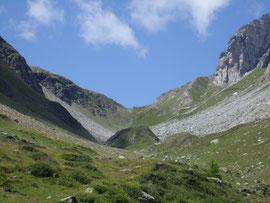 Il Passo di Valtendra m. 2431
