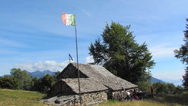 Il rifugio Rondolini all'Alpe San Giacomo