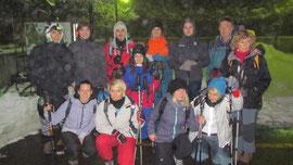 La foto del nostro gruppo alla partenza
